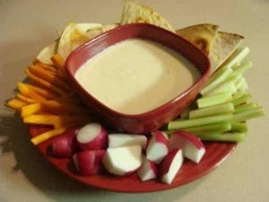 3-Ingredient Queso Cheese Dip Recipe