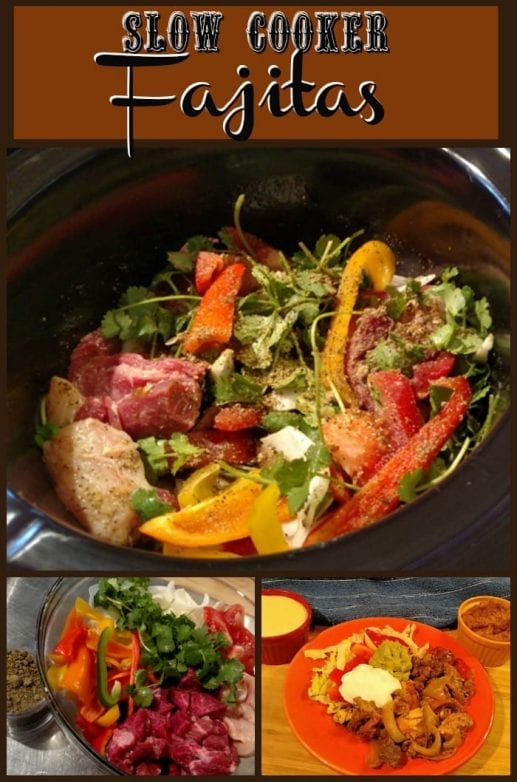 Slow Cooker Fajitas Recipe. Find this and more yummy crockpot recipes @ http:slowcookerkitchen.com
