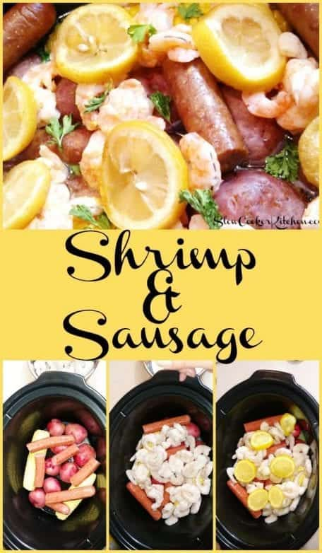 Slow Cooker Shrimp and Sausage