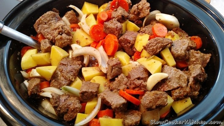 Crock Pot Beef Stew Recipe