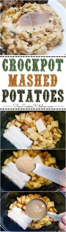 country style crockpot mashed potatoes