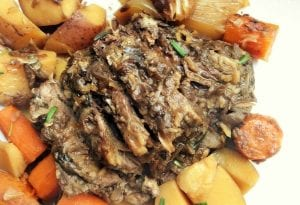 crock pot pot roast step by step