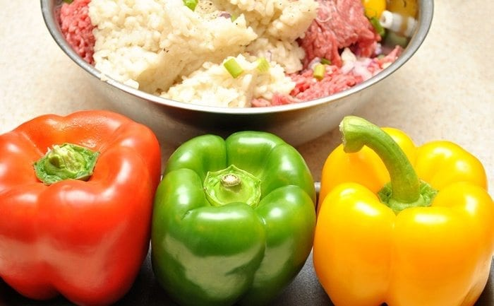 slow cooker peppers