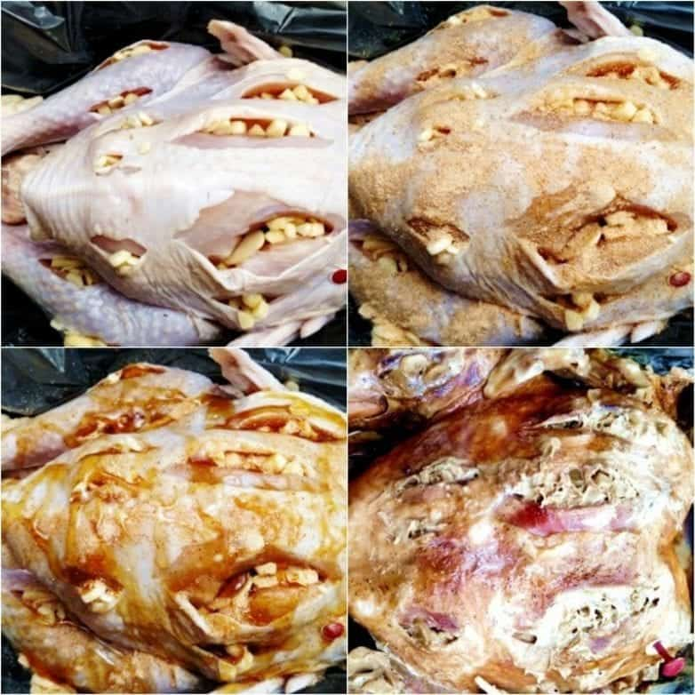 steps to make whole turkey in the crock pot