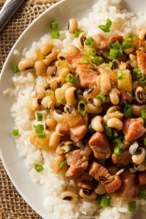 Crockpot 4-Ingredient Hoppin John