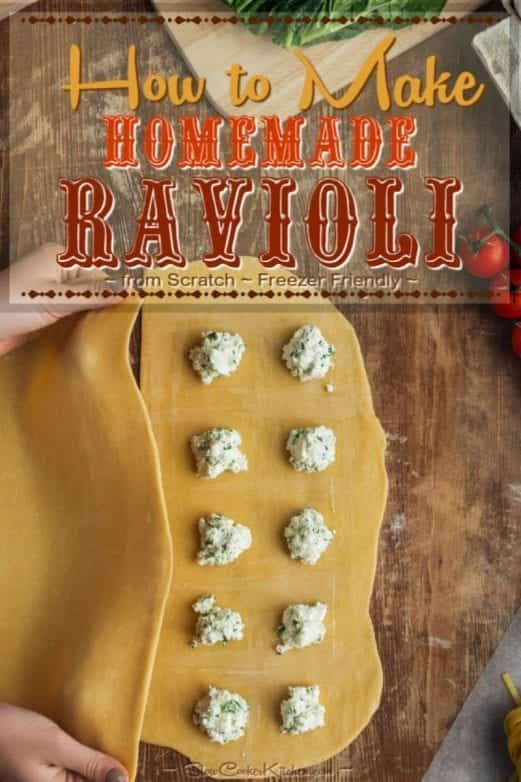 how to make homemade ravioli step by step